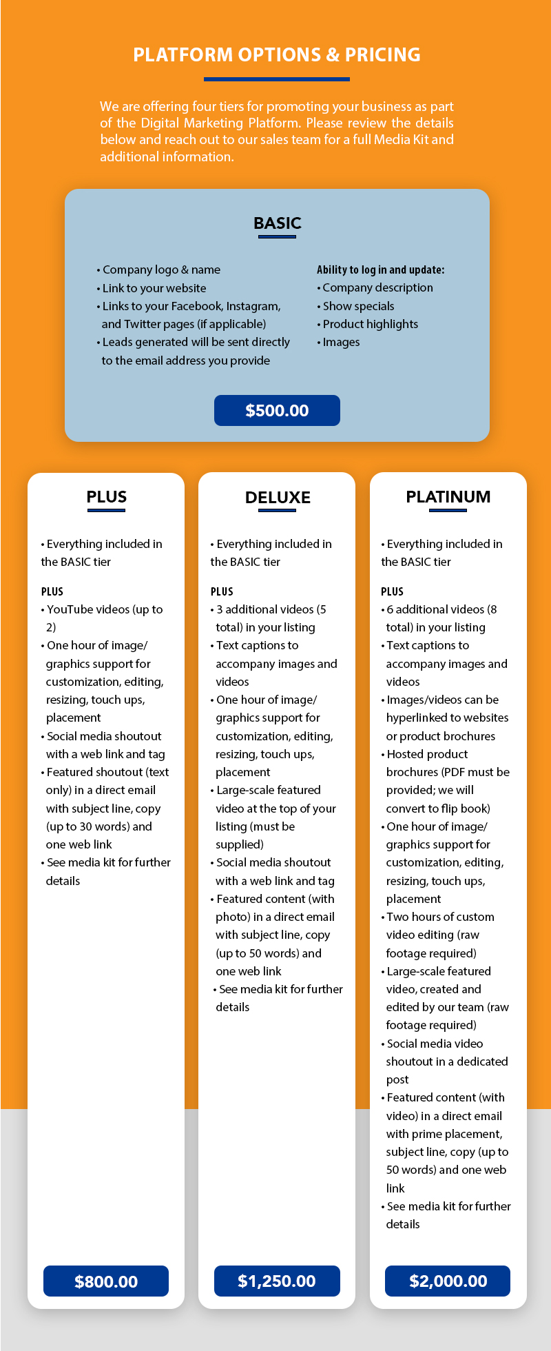 v2-TSS DMP Pricing